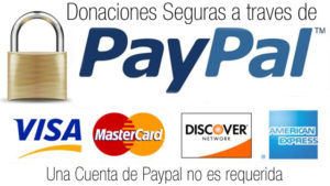 donaciones seguras por paypal.